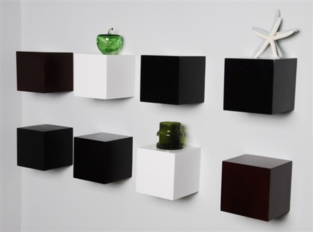 Cube Floating Wall Shelves