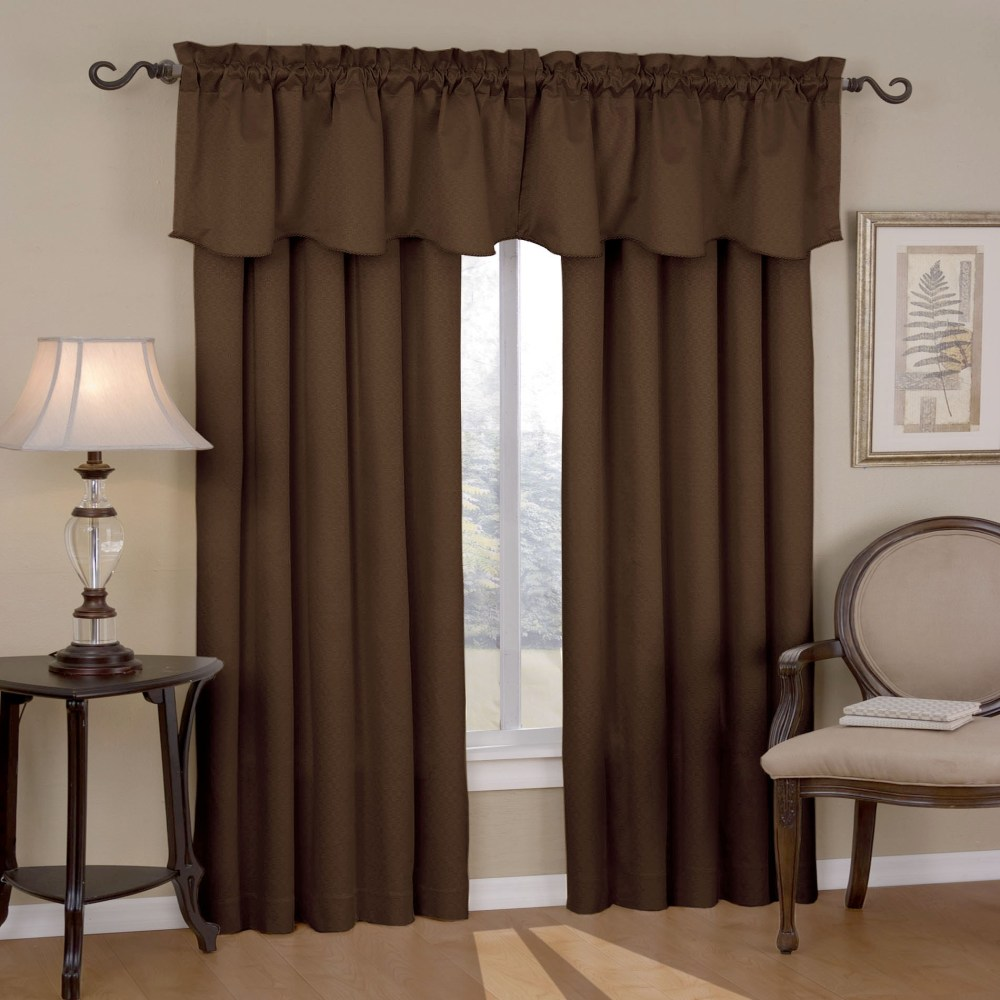 Curtain And Valance Set