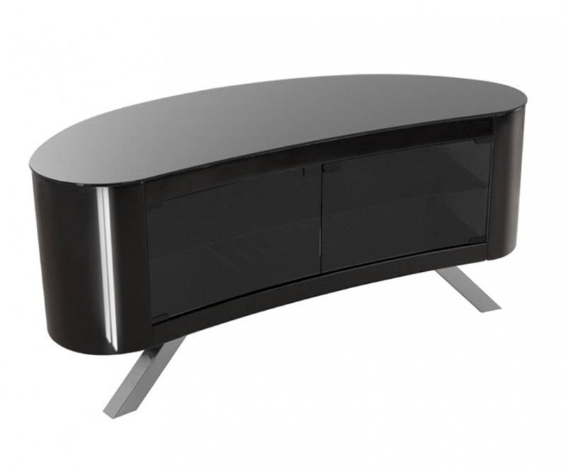 Curved Tv Stand