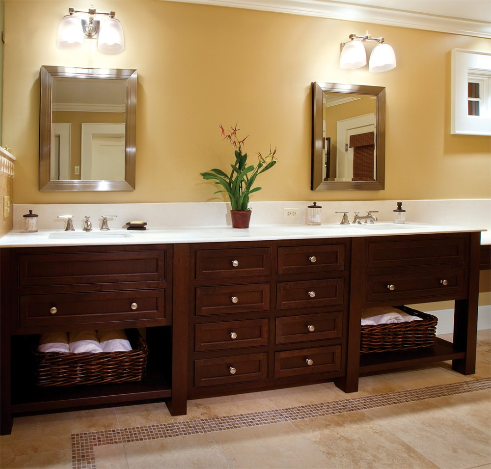 Custom Bathroom Cabinets Lowes