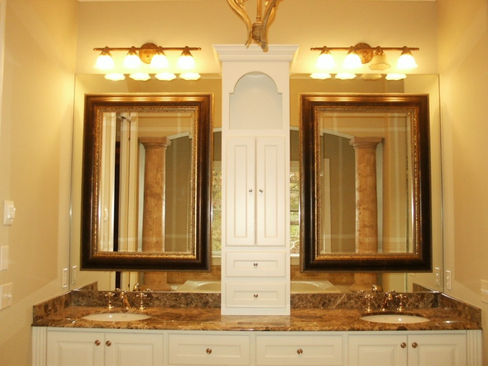 Custom Bathroom Mirror Frames