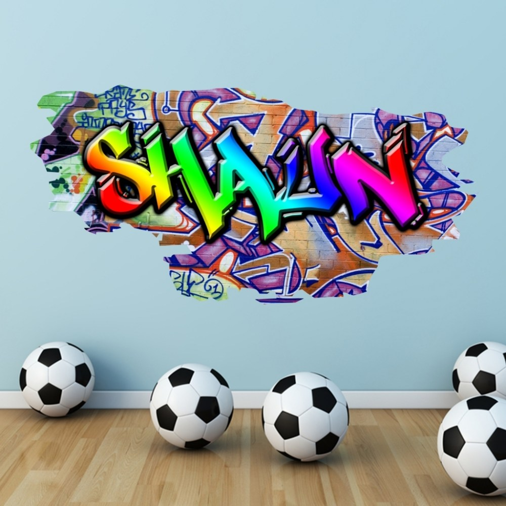 Custom Graffiti Wall Decals