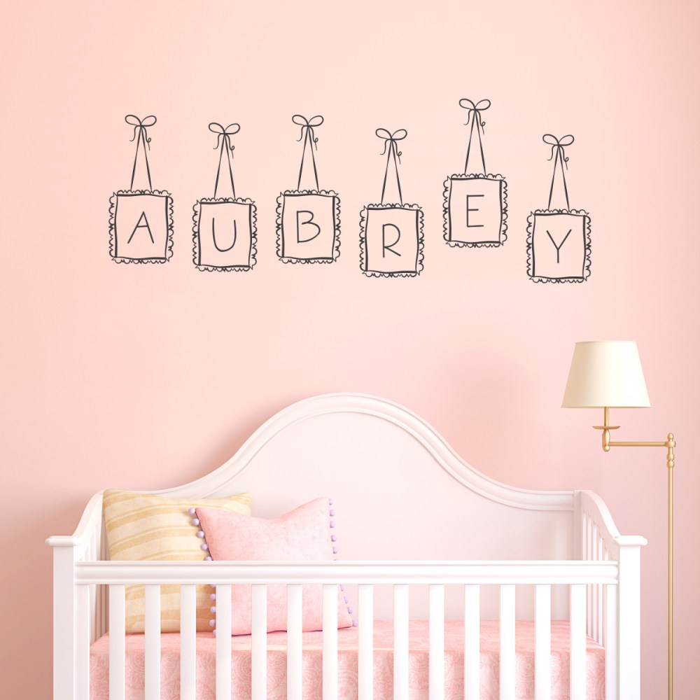Customized Wall Decals For Nursery