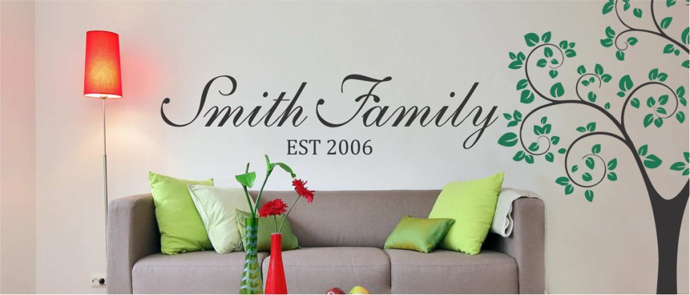 Customized Wall Decals Quotes