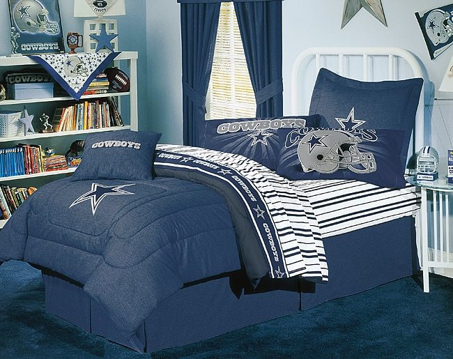 Dallas Cowboys Comforter Set Full