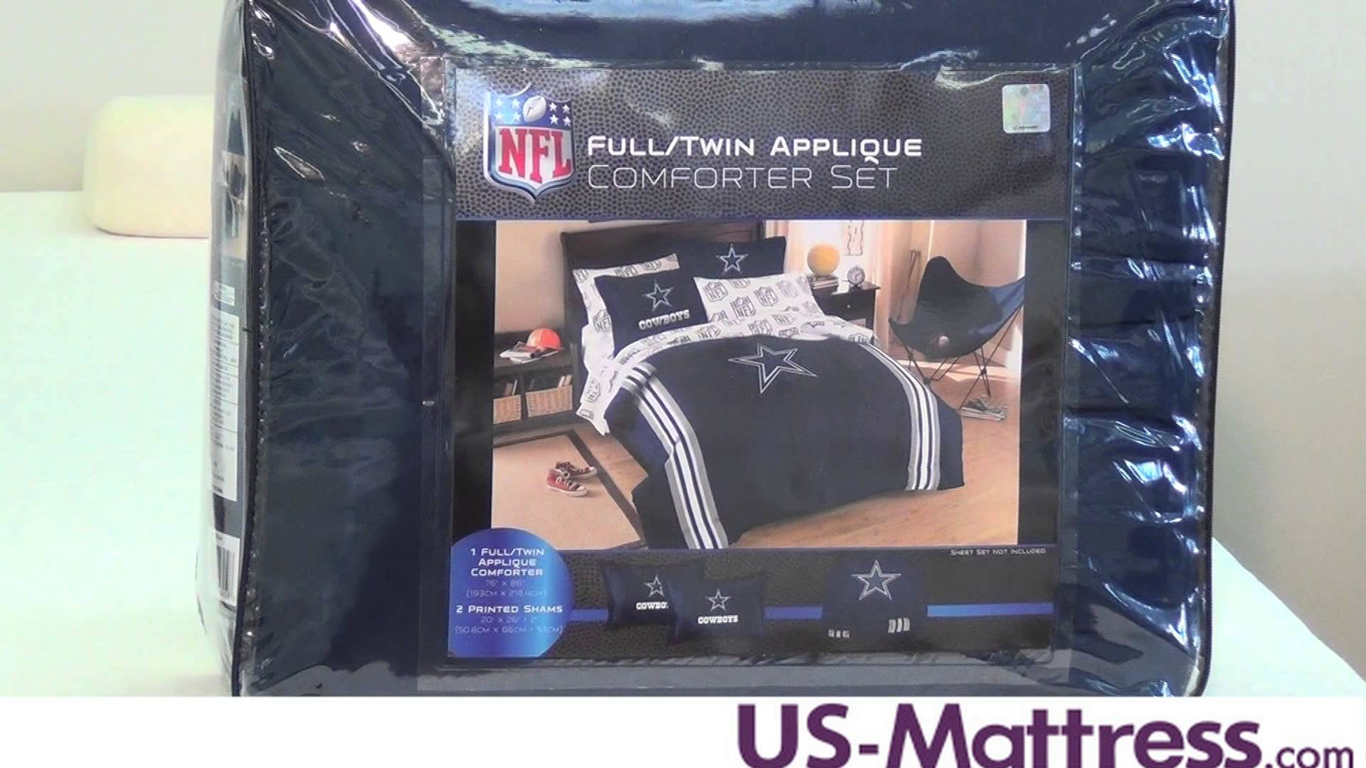 Dallas Cowboys Comforter Set Twin