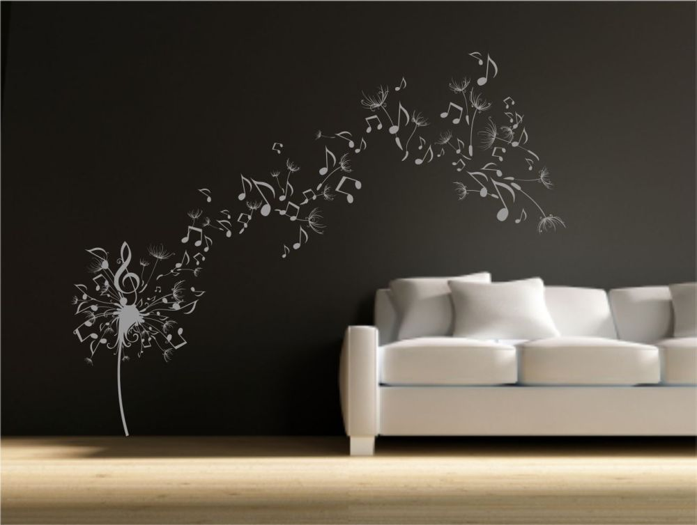 Dandelion Decal Wall Art