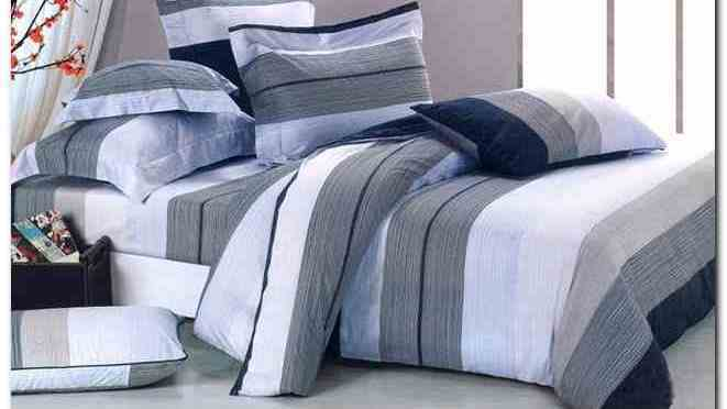 Dark Blue And Gray Comforter Sets
