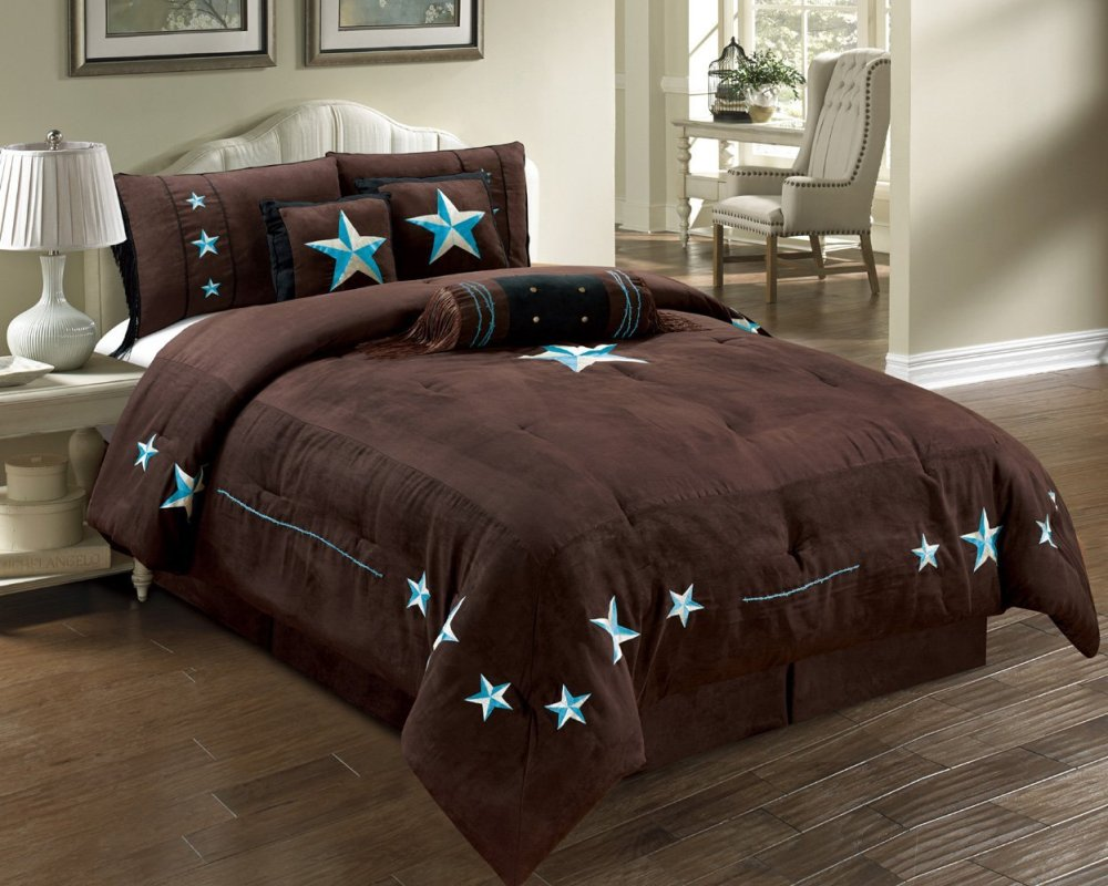 Dark Brown Comforter Set