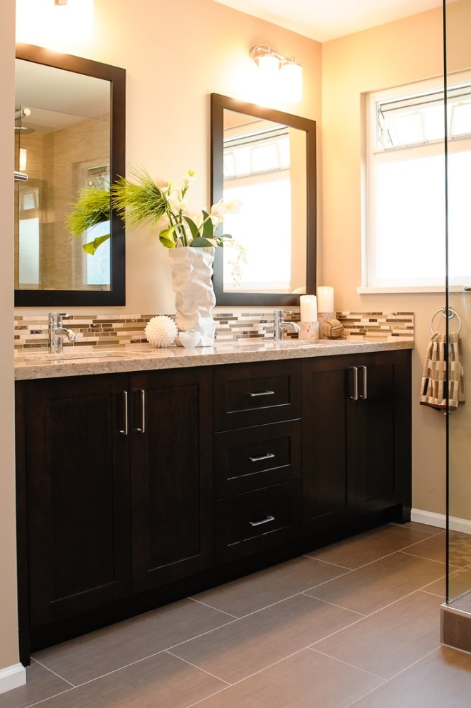 Dark Grey Bathroom Cabinets