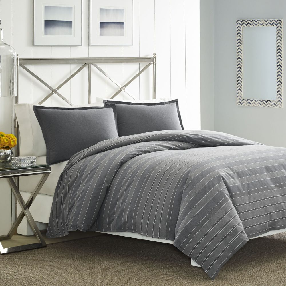 Dark Grey Comforter Set Queen