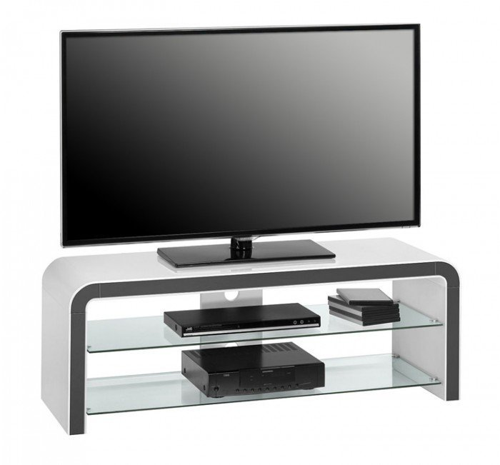Dark Grey Tv Stand