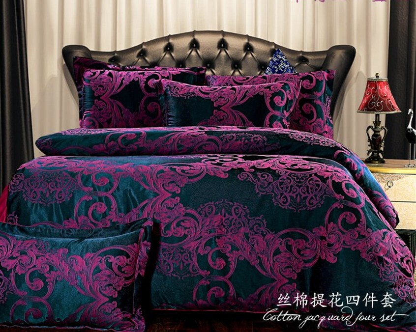 Dark Purple Comforter Sets