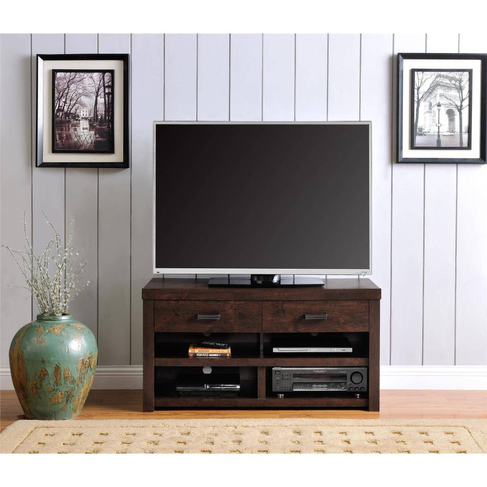 Dark Walnut Tv Stand