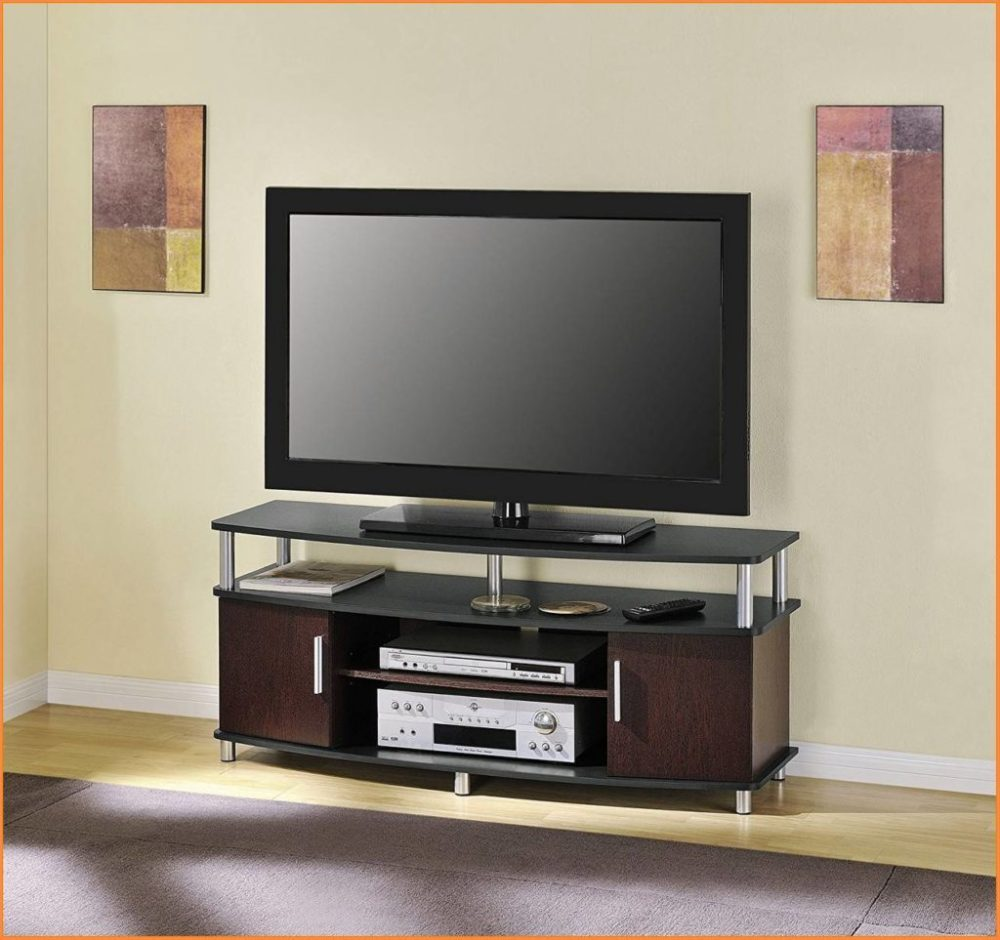 Dark Wood Tv Stands For Flat Screens