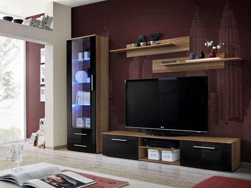 Dark Wood Tv Stands Uk