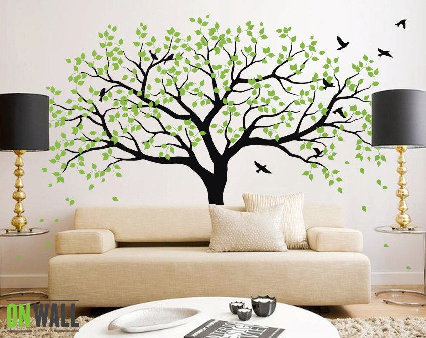 Decal Trees For Walls