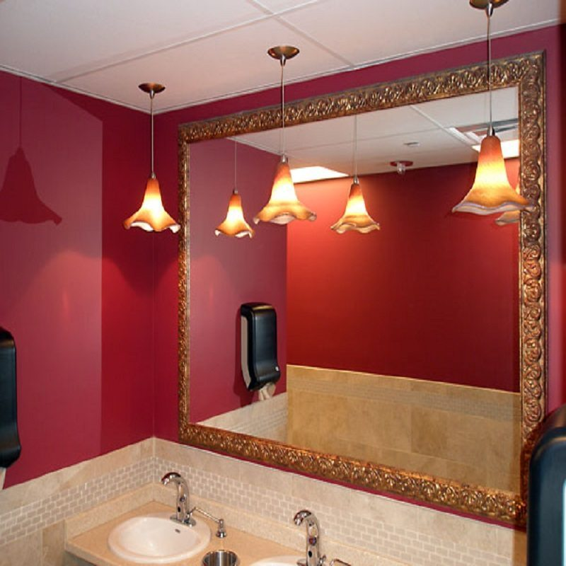Decorative Bathroom Mirror Trim