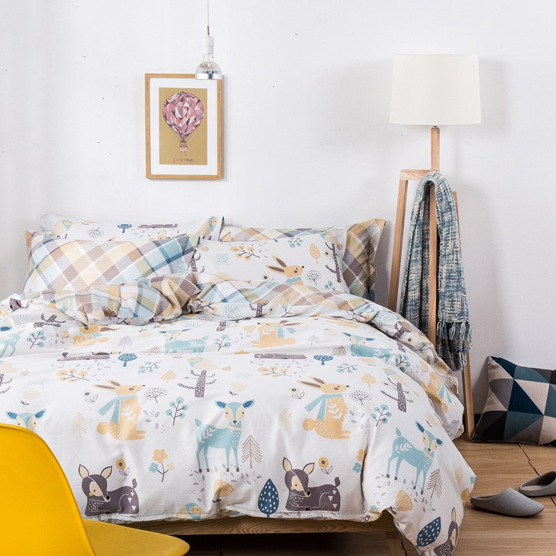 Deer Comforter Set Full