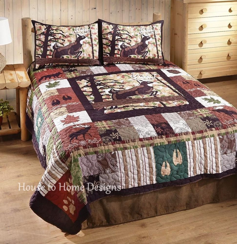 Deer Comforter Sets Queen