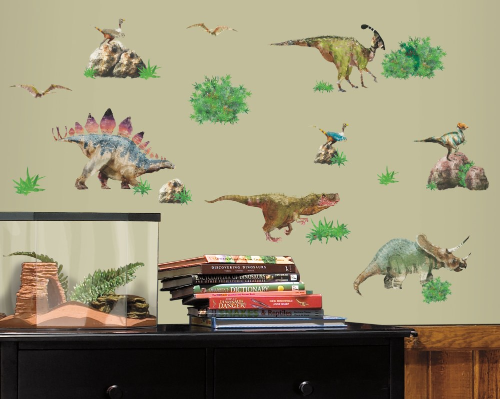 Dinosaur Skeleton Wall Decals