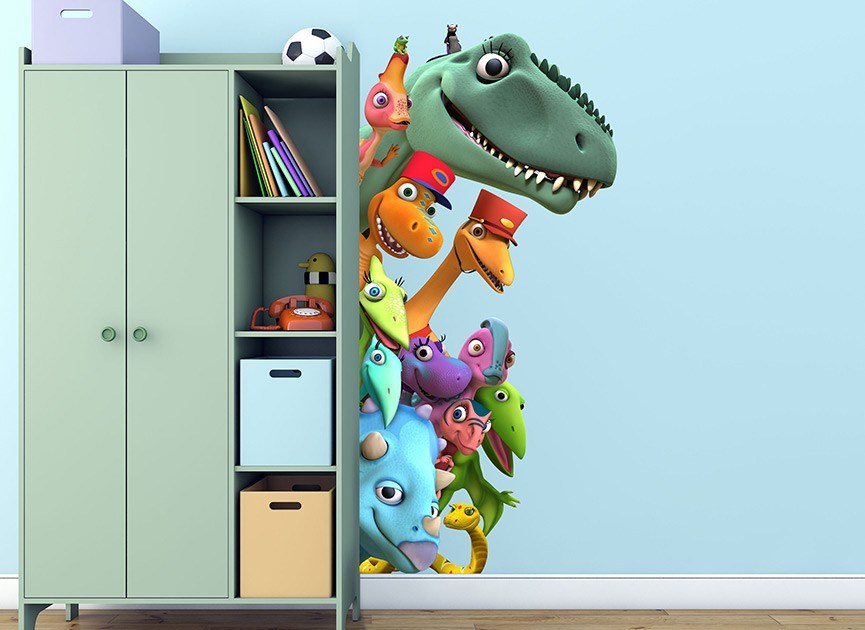 Dinosaur Train Wall Decals