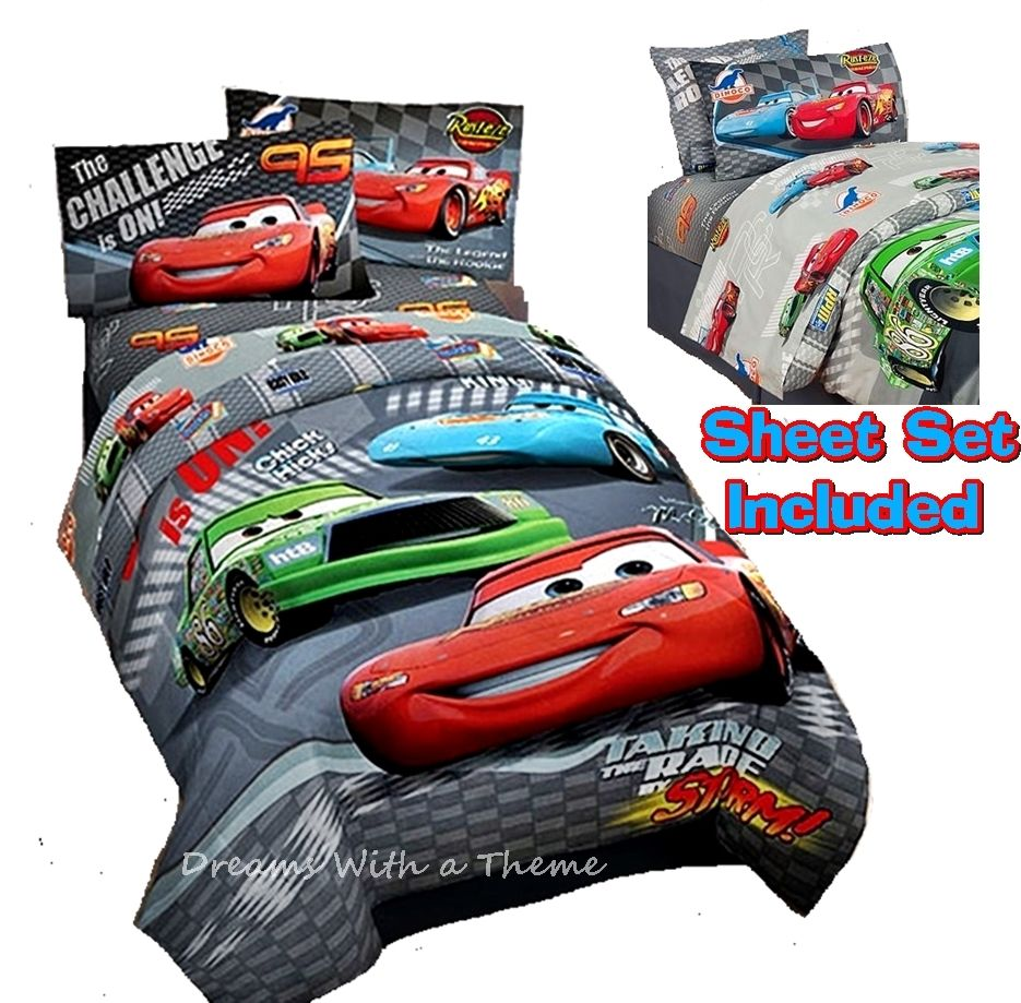 Disney Cars Full Size Comforter Set