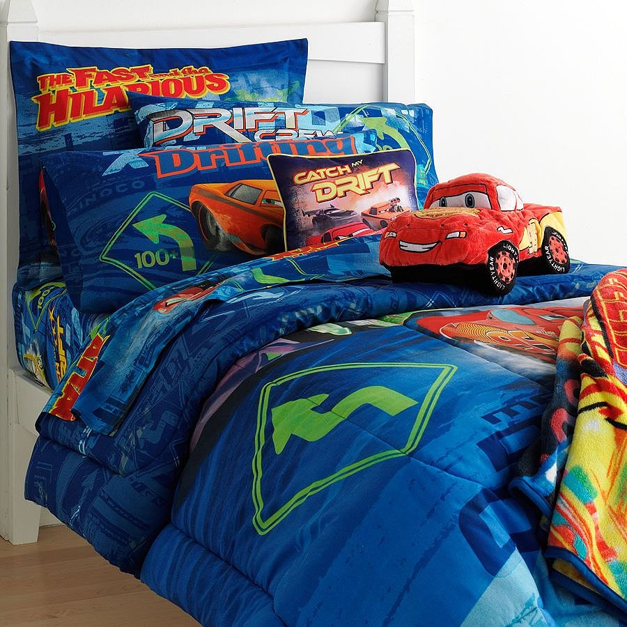 Disney Cars Twin Comforter Set