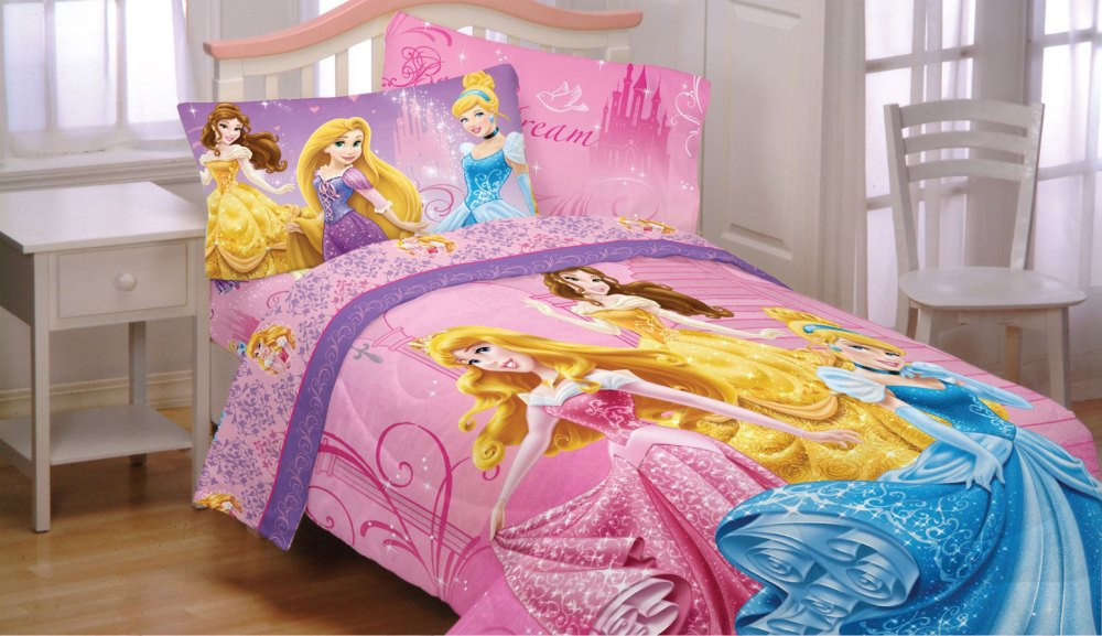 Disney Princess Comforter Set Full
