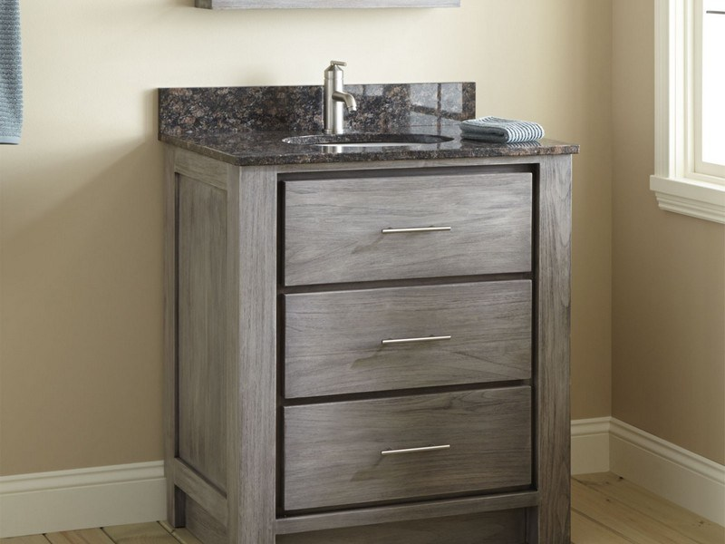 Distressed Bathroom Vanity Cabinets