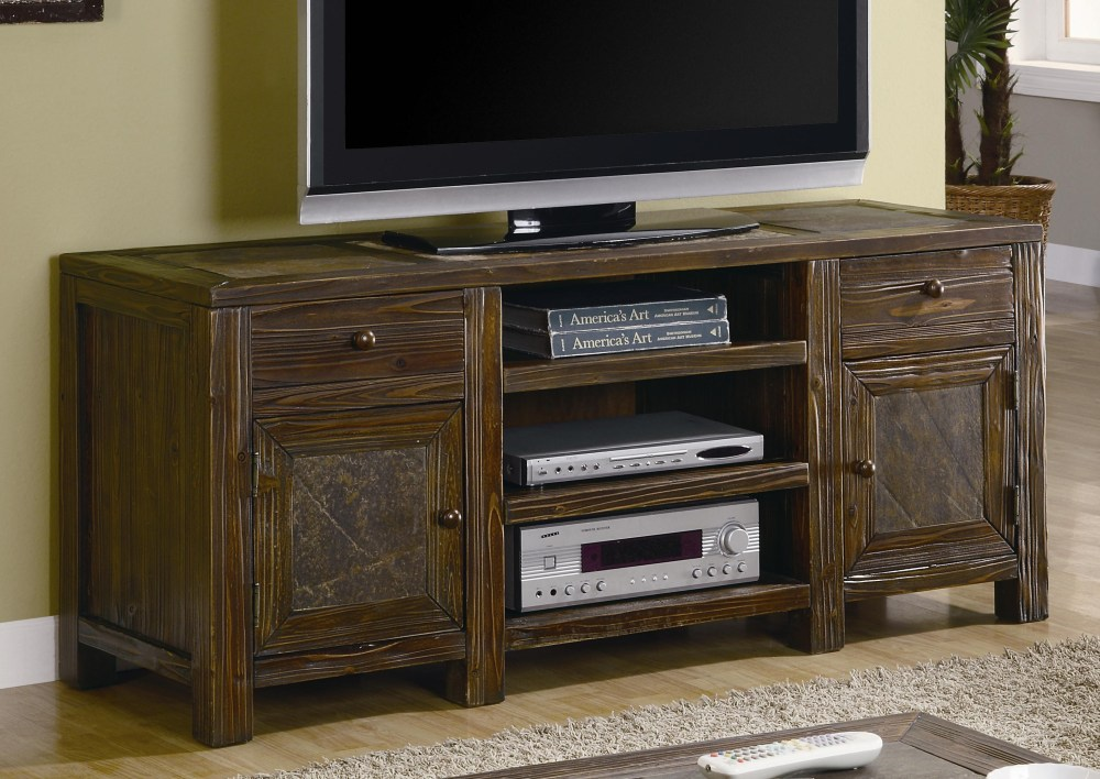 Distressed Oak Tv Stand