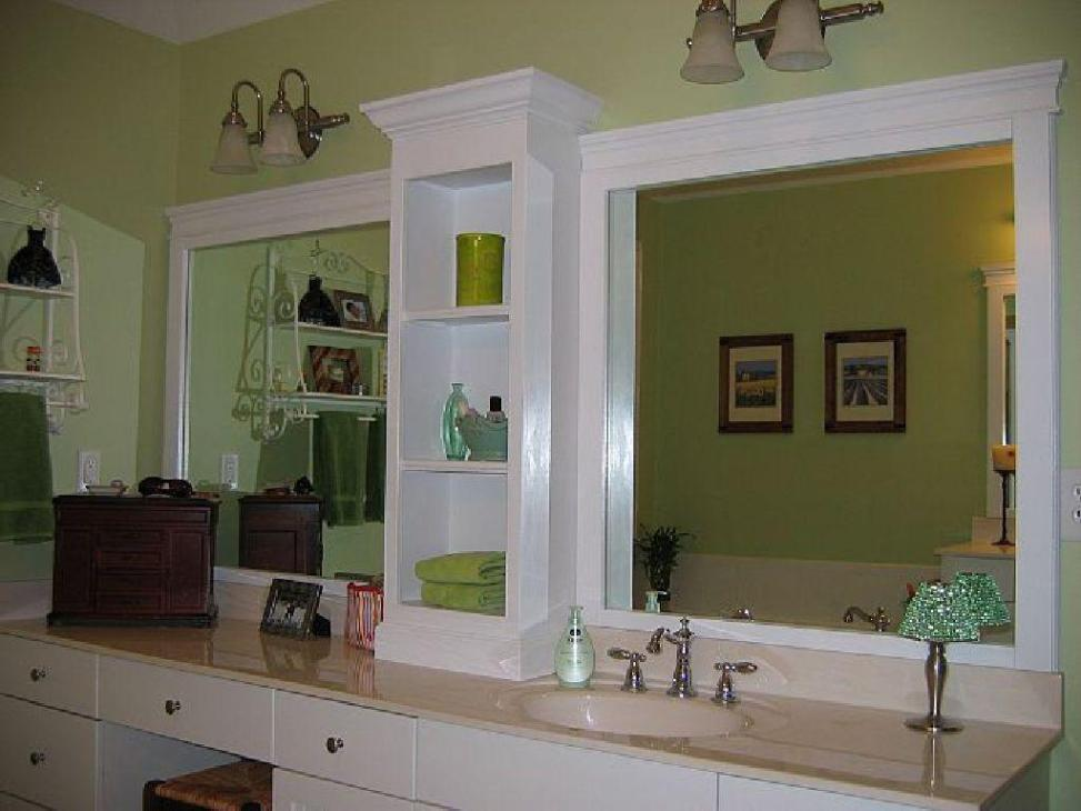 Diy Bathroom Mirror Ideas