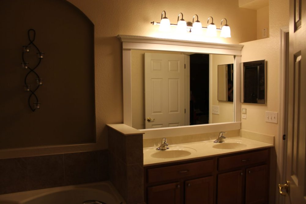 Diy Bathroom Mirror Lights