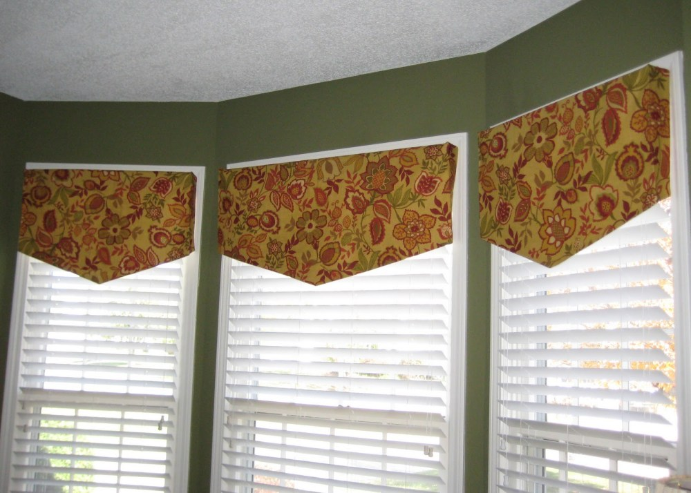 Diy Curtain Valance Ideas