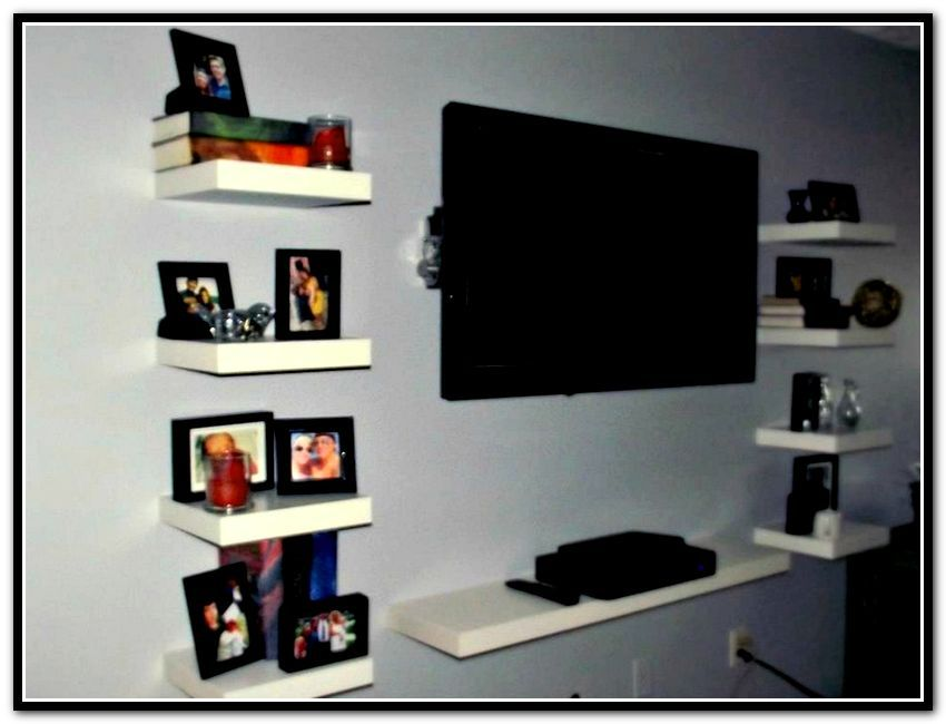 Diy Floating Shelves Entertainment Center