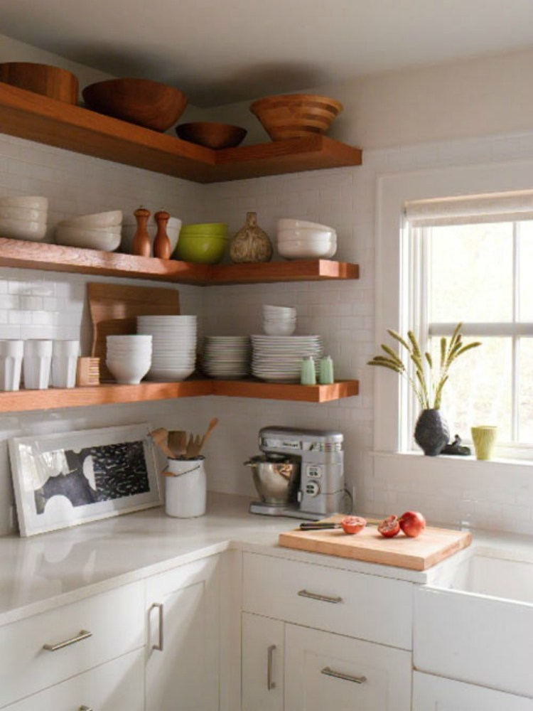 Diy Floating Shelves For Kitchen