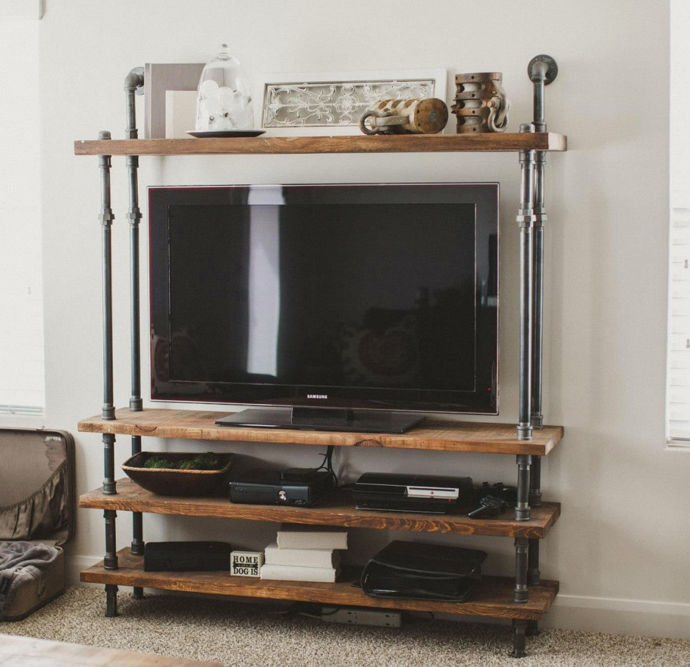 Diy Industrial Tv Stand