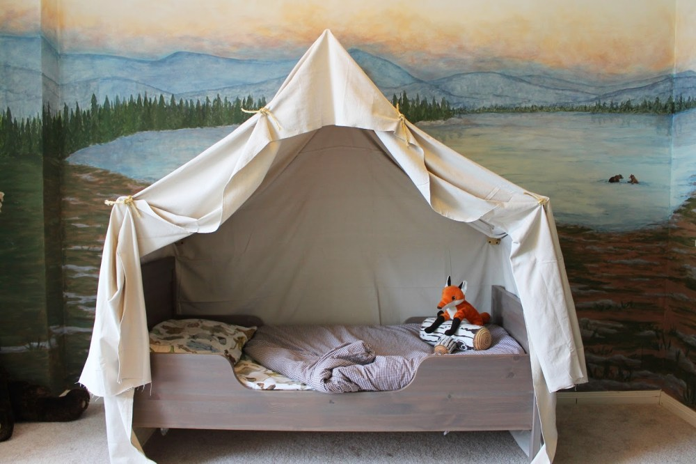 Diy Kids Canopy Bed