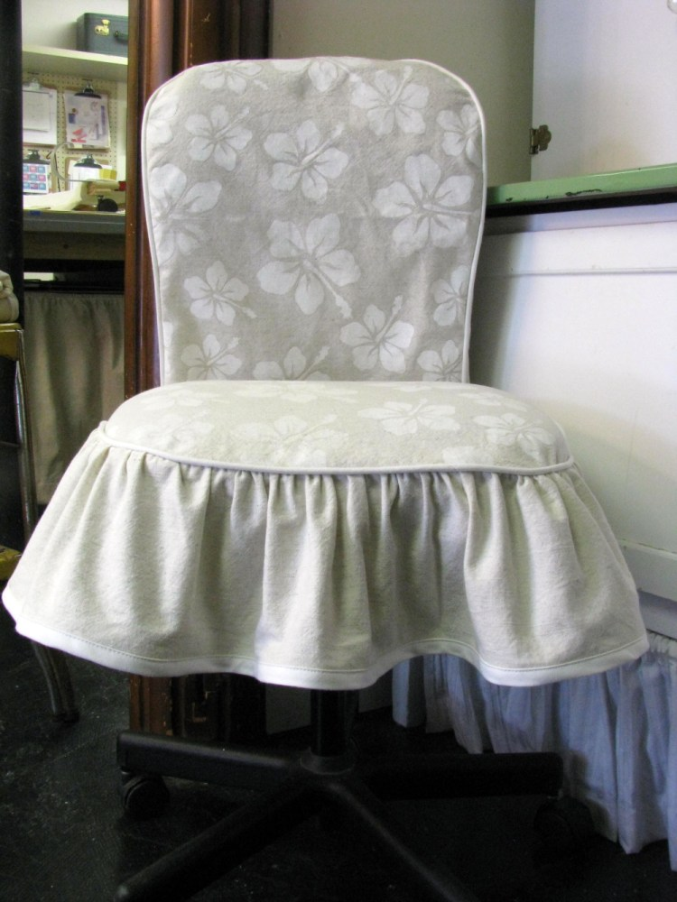 Diy Office Chair Cover No Sew