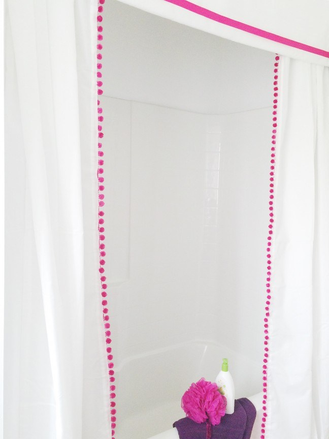 Diy Shower Curtain Valance