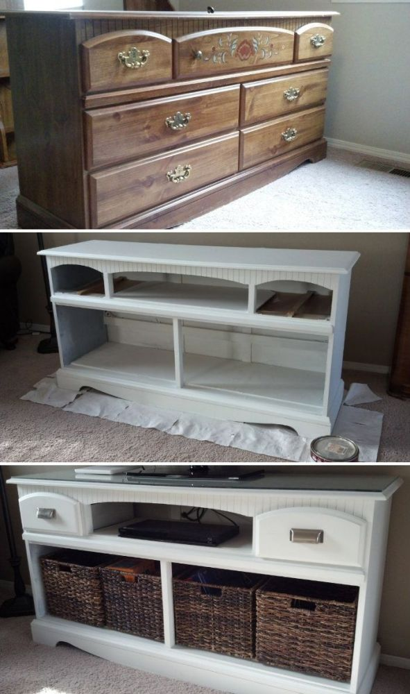 Diy Tv Stand Ideas Pinterest