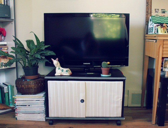 Diy Tv Stand With Doors