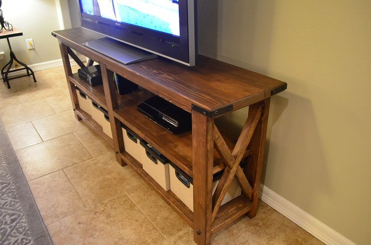 Diy Wood Tv Stand Plans