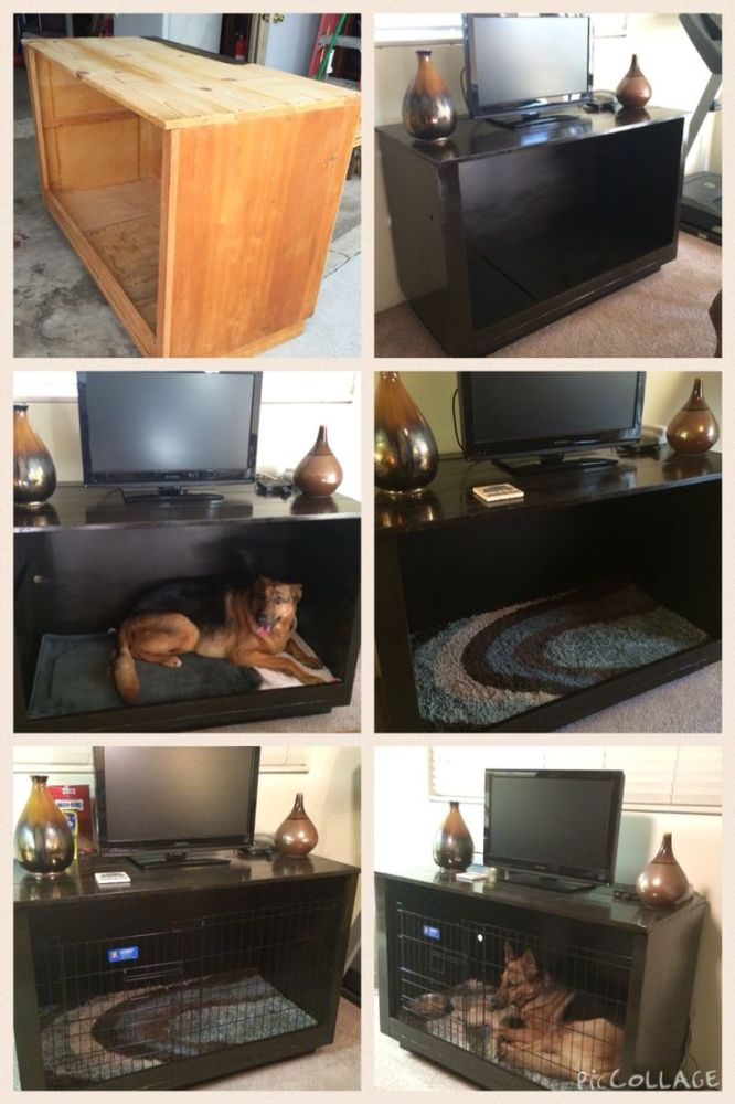 Dog Crate Tv Stand Diy
