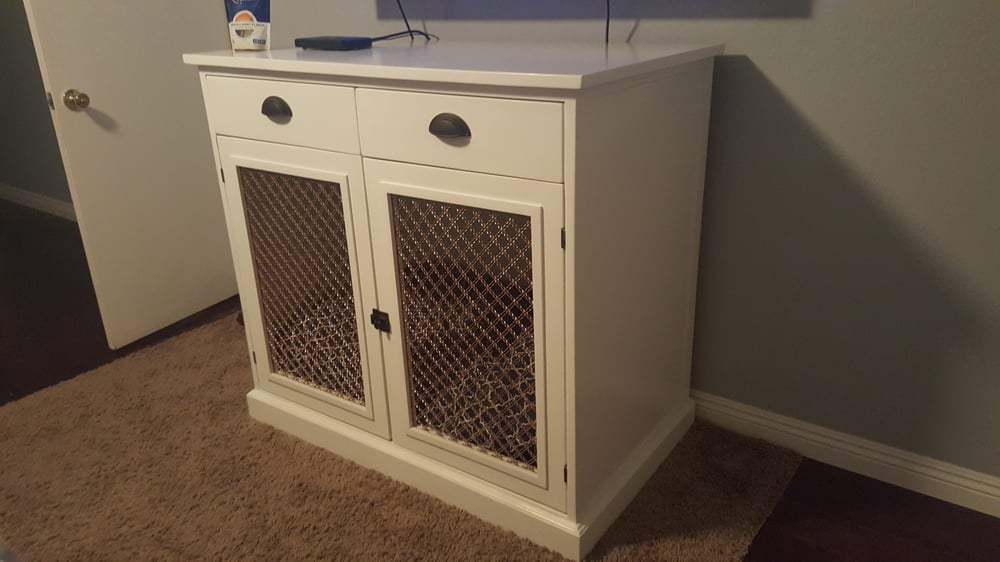 Dog Crate Tv Stand