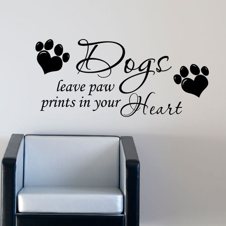 Dog Vinyl Wall Decals
