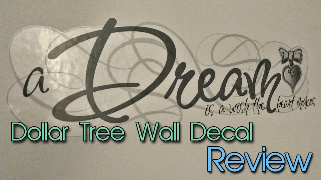 Dollar Tree Wall Decals
