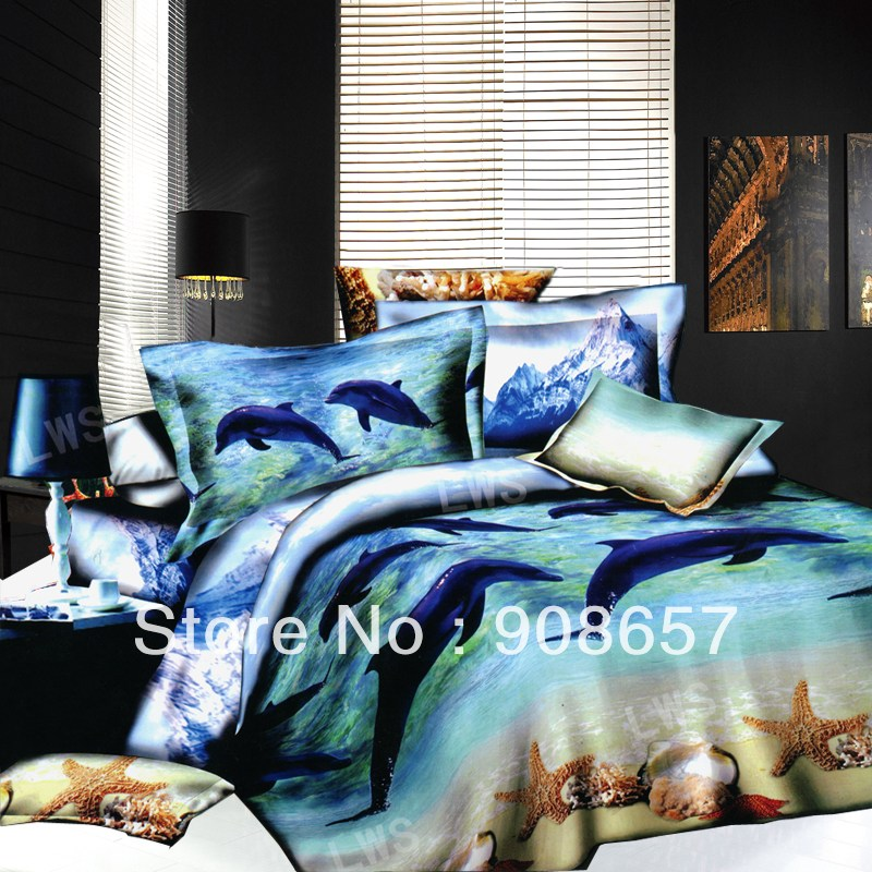 Dolphin Comforter Set Full