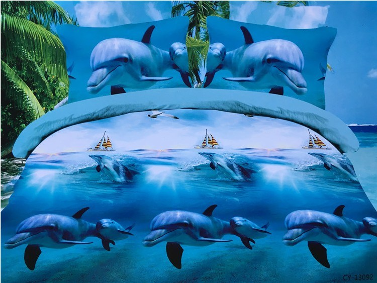 Dolphin Comforter Sets