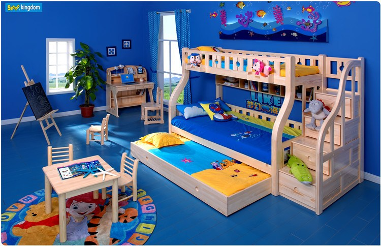 Double Bunk Beds For Kids